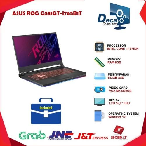 Foto Produk Laptop ASUS ROG G531GT- STRIX III i7-9750H 8GB 512GB SSD GTX1650 4GB dari Deca Computer