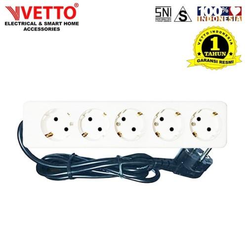 Foto Produk VETTO Stop Kontak V8205 3M SNI-V8205/3M LC dari Vetto Indonesia
