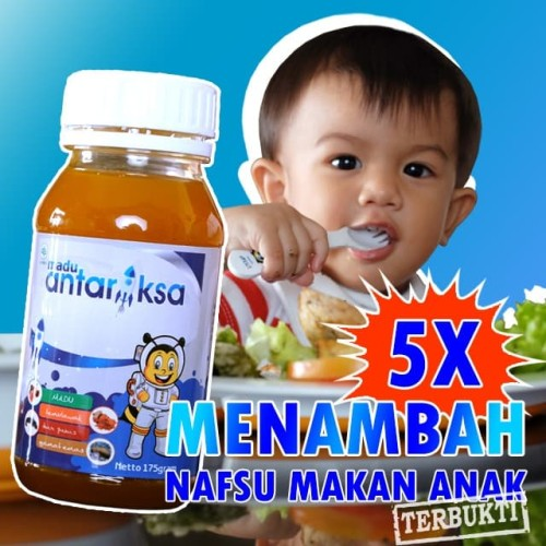 Foto Produk Vitamin Penambah Nafsu Makan Anak Madu Antariksa dari Senja Hari