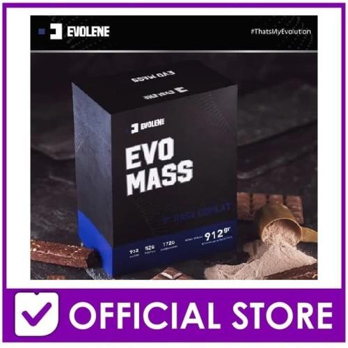 Foto Produk Evolene EvoMass Gainer 2lb 912gram - Coklat dari The Next Store