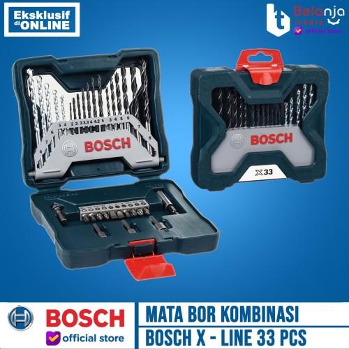 Foto Produk Mata Bor Kombinasi X-line Set 33 pcs Bosch dari Belanja Teknik