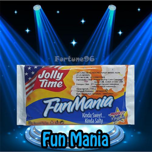 Foto Produk Jolly Time Popcorn FUN MANIA ( FM ) - Original USA dari Fortune96