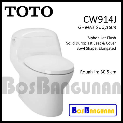 Jual Alat Dalam Tangki Kloset Toto Cw914 J Sparepart Closet Toto Tx296cws Kota Bandung Bosbangunan Tokopedia
