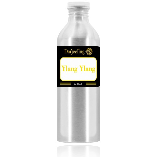 Foto Produk 500ml Ylang Ylang Essential Oil Minyak Kenanga 100% Murni dari Darjeeling Store