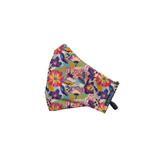 Foto Produk Masker Maskit Limited Edition - Dewasa Standar - Rainbow Floral dari Maskit Store
