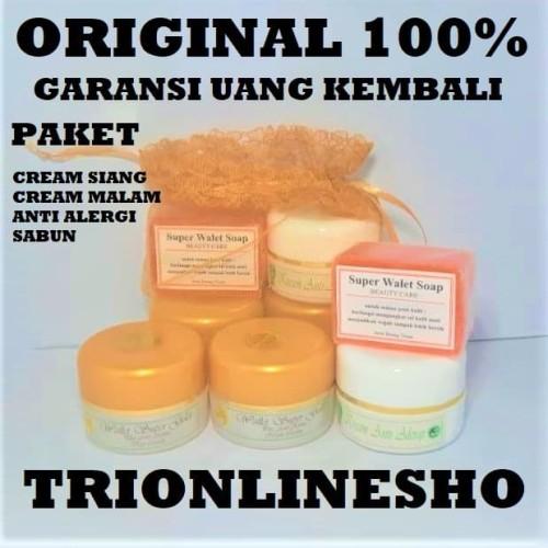 Foto Produk Cream walet gold , 4 in 1 DIJAMIN ASLI DAN ORIGINAL dari TRIONLINESHOP