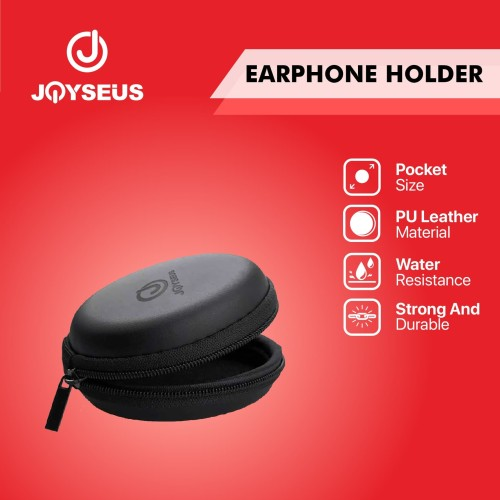 Foto Produk JOYSEUS Earphone Case Hard Bag Box Case Earphone Case - KP0002 dari Joyseus Official Store