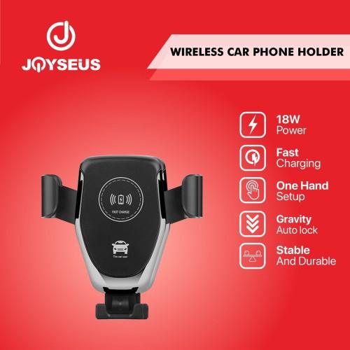 Foto Produk Wireless Charger Car Holder Phone Holder JOYSEUS in Air Vent - CH0005 dari Joyseus Official Store
