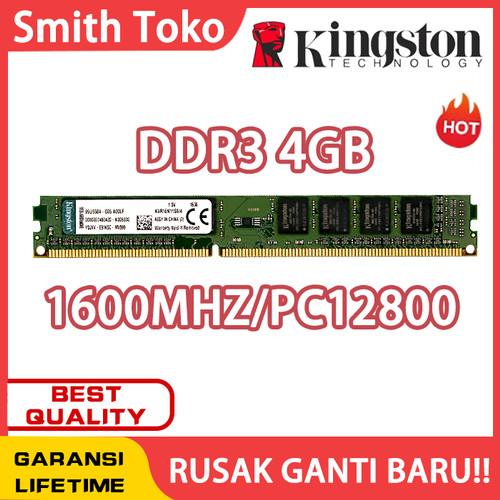 Foto Produk Memory Pc Ddr3 Kingston 4g - 4GB 1600MHZ dari SmithToko
