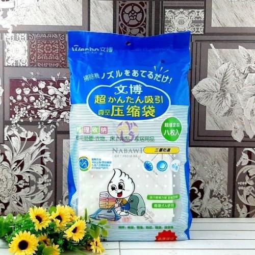 Foto Produk Vacuum Bag Isi 8 + Free Pompa (3+3+2) dari angel-city