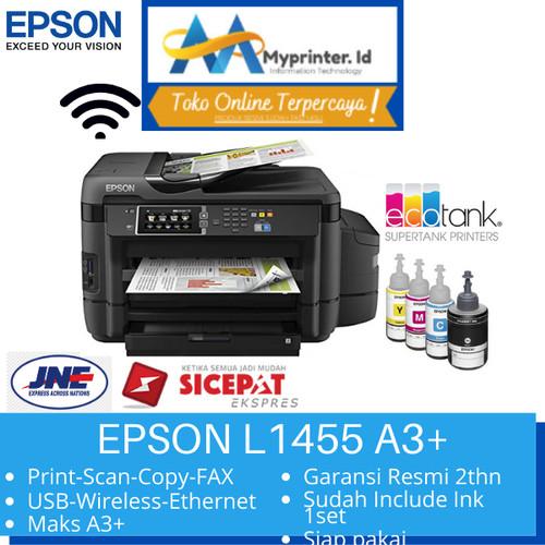 Foto Produk Epson L1455 All in One Printer - Hitam [A3/ Print/Scan/Copy/Fax] dari myprinter.id