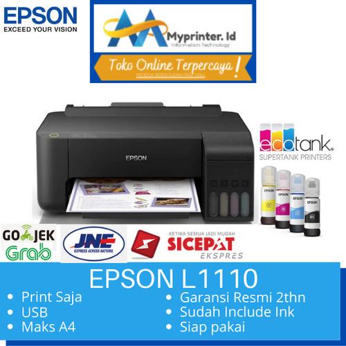 Foto Produk Printer Epson Eco tank L1110 / EPSON L1110 pengganti L310 print Only dari myprinter.id
