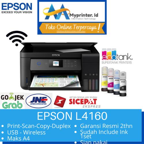 Foto Produk Printer EPSON Printer L4160 / Print / Scan / copy / Duplex / Wifi dari myprinter.id