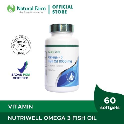 Foto Produk Nutriwell Omega 3 Fish Oil 60 Softgell dari Natural Farm