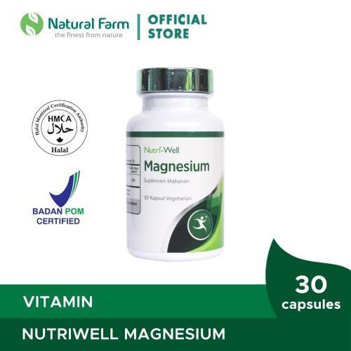 Foto Produk Nutriwell Magnesium (30 Caps) dari Natural Farm