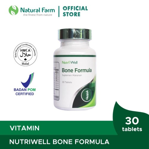 Foto Produk Nutriwell Bone Formula 30 Softgell dari Natural Farm