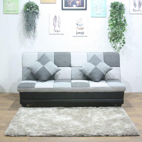 Foto Produk SOFA BED CLAIRE, MULTI FUNGSI MINIMALIS MURAH DAN BERKUALITAS - Variasi abu-abu dari FurniCraft
