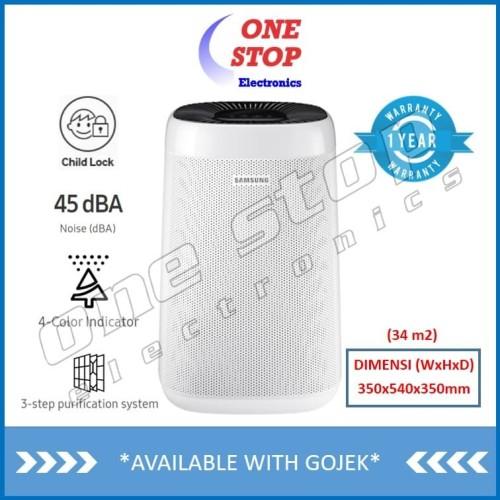 Foto Produk Samsung AX34R3020WW Air Purifier with 4 Color Indicator dari OneStop Electronics