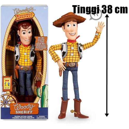 Foto Produk Figure Boneka Toy Story Talking Woody Original Disney Pixar dari spasunique