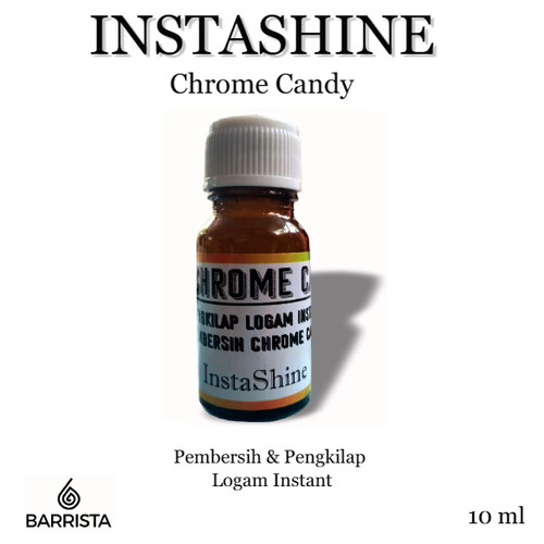 Foto Produk PEWARNA LOGAM CHROME PELAPIS LOGAM ISNTANT OLES CANDY PAINT - instashine dari Barrits Otomotif