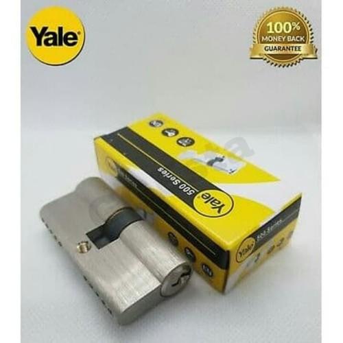Foto Produk Cylinder Kunci 500 series YALE 10-0502-4040-00-22-11 80mm ORIGINAL dari GGEsta Indonesia