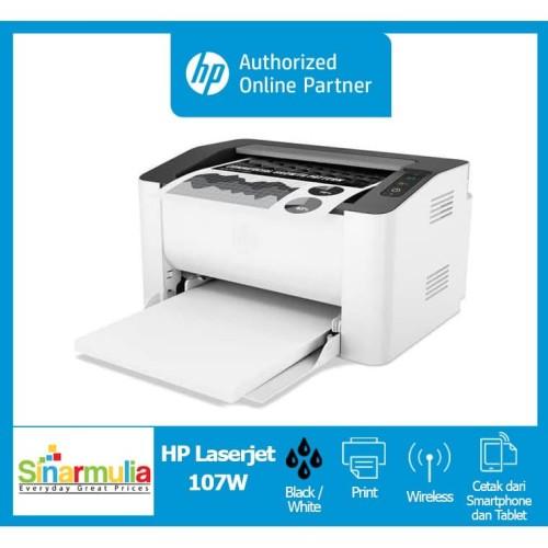 Foto Produk HP LaserJet Pro 107w dari Sinarmulia Sukses Makmur