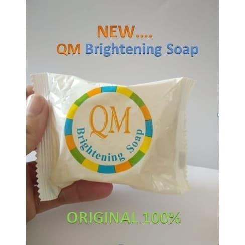 Foto Produk Sabun QM Lightening Soap / Memutihkan Wajah Alami BPOM dari Hardtech