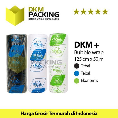 Foto Produk Plastik Bubble Wrap 125cm x 50m DKM PLUS PREMIUM TERMURAH /ROLL - Hijau Bening dari dkmpacking