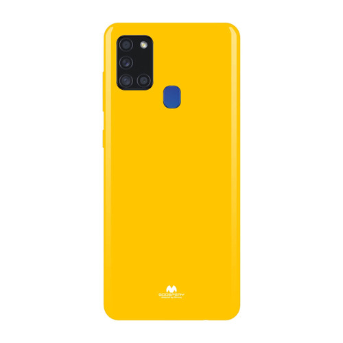 Foto Produk Goospery Pearl Jelly Case For All Type Handphone Campaign FS Deal - Yellow dari Goospery Indonesia