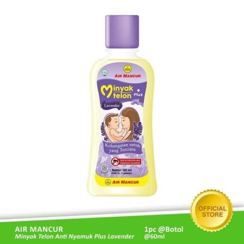 Foto Produk Air Mancur Minyak Telon Anti Nyamuk Lavender 60ml dari Air Mancur Official Shop