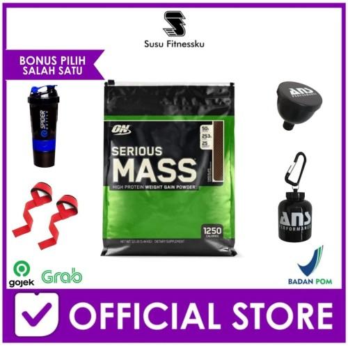 Foto Produk ON Serious Mass 12 lbs Seriousmass Gainer dari Susu fitnessku