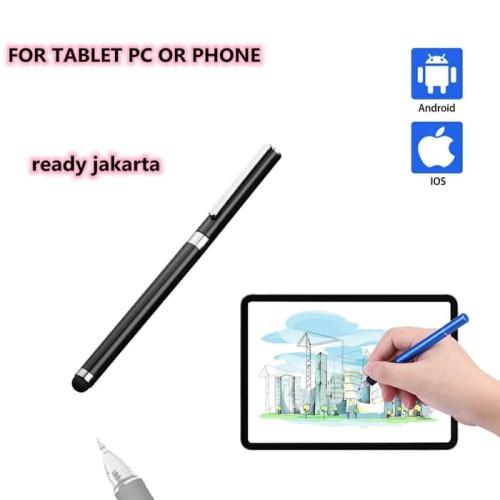 Foto Produk Stylus pen tablet layar sentuh tablet smartphone tablet pc pena layar - Putih dari LKtech