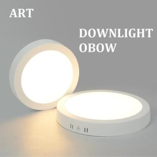 Foto Produk DOWNLIGHT LED OB BULAT 6/12/18 WATT / LAMPU PLAFON / LAMPU RUMAH - Kuning, 6WATT dari tokoelectrical