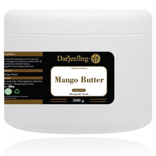Foto Produk 500g Mango Butter Unrefined Raw Lemak Mangga Butter dari Darjeeling Store