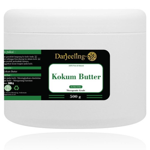 Foto Produk 500g Kokum Butter Unrefined Raw Lemak Kokum dari Darjeeling Store