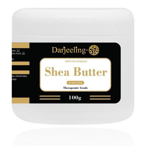 Foto Produk 100g Shea Butter Unrefined Raw Lemak Shea dari Darjeeling Store