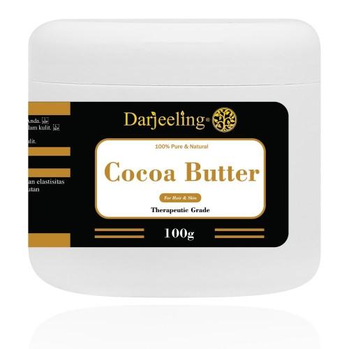 Foto Produk 100g Cocoa Butter Unrefined Raw Cacao Butter Lemak Cokelat dari Darjeeling Store