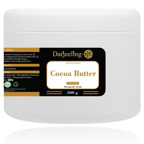 Foto Produk 500g Cocoa Butter Unrefined Raw Cacao Butter Lemak Cokelat dari Darjeeling Store