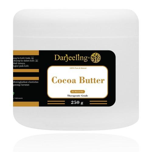Foto Produk 250g Cocoa Butter Unrefined Raw Cacao Butter Lemak Cokelat dari Darjeeling Store
