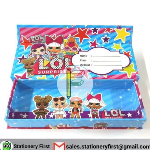 Foto Produk TERLARIS Kotak Tempat Pensil Balok Magnet Murah Bahan Karton Bukan dari shin_STOREE