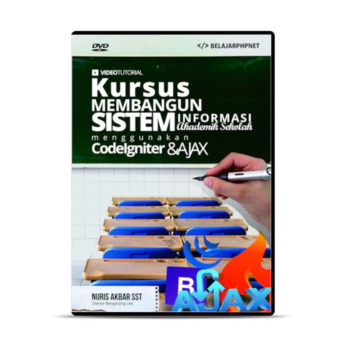 Foto Produk Membangun Sistem Informasi Akademik Sekolah Dengan Codeigniter & Ajax dari warung belajar