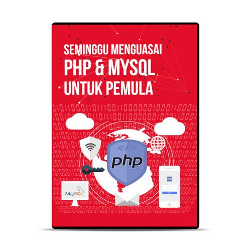 Foto Produk DVD Tutorial Seminggu Menguasai PHP Dan MySQL dari warung belajar