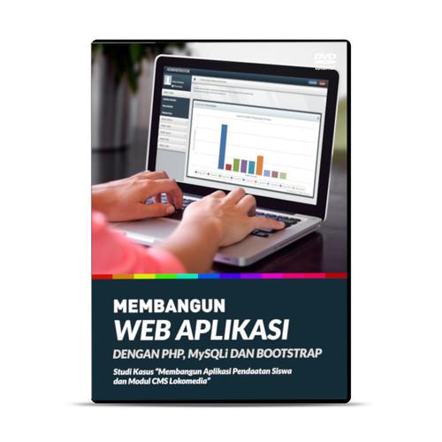 Foto Produk DVD MEMBANGUN APLIKASI BERBASIS WEB DENGAN PHP MYSQL DAN BOOTSTRAP dari warung belajar