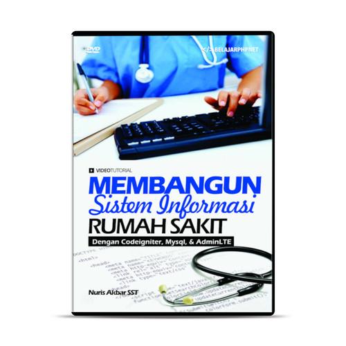 Foto Produk DVD Membangun Sistem Informasi Rumah Sakit Dengan Codeigniter dari warung belajar