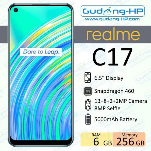 Foto Produk Realme C17 6/256 GB Garansi Resmi - Hijau dari Gudang-HP