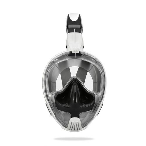 Foto Produk Thenice Full Face Snorkeling Mask M2101 ear equalizing - snorkling - White LXL dari Tas Kamera Cozaze Bali