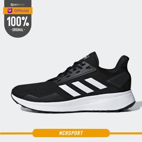 Foto Produk Sepatu Lari Adidas Duramo 9 Black White Original BB7066 - 10 dari Ncr Sport