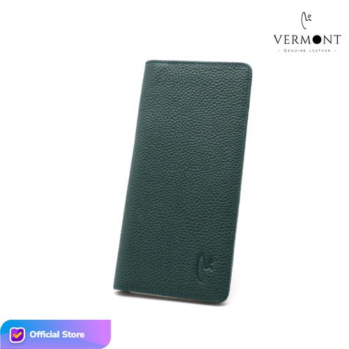 Foto Produk Dompet Kulit Asli Branded VERMONT V83 - L003 Original Leather - Classic Green dari VERMONT LEATHER