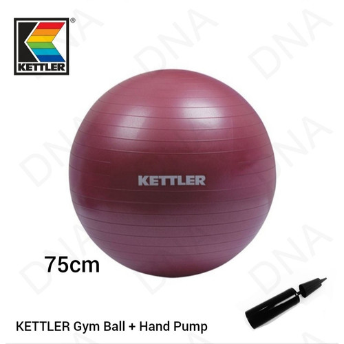 Foto Produk Gym Ball Kettler 75cm - Ungu dari DNA Sport & Music