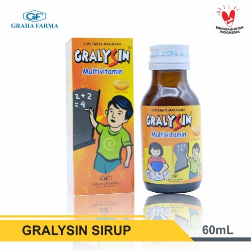 Foto Produk GRALYSIN - Multivitamin Plus dari Graha Farma Official